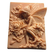 3D Peony Fairy Craft Art Silicone Soap mould Craft Moulds DIY Handmade Candle mould Chocolate Mould moulds