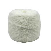 Celine lin One Skein Super Soft Warm Coral Fleece Knitting Yarn for Baby 100g,Milk white