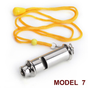 GOGO Whistle With Lanyard Classic Sporting Coach Whistle, Safety Whistle Emergency Survival Whistle-Model 7