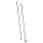 Scooter Flag Tag Vertical Poles, Pair