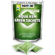 New Thetford Kem Green Sachets 12 X 42.5g Caravan Chemical Toilet Sachets