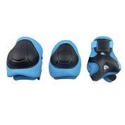 "Gim Child""s Pad Set With Knee Elbow And Wrist Blue"
