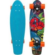Penny Unisex Weird Neo Tokyo Skateboard, Light Blue, 70cm