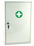 First Aid Metal Cabinet From Reliance Medical In White One Size