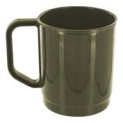 Highlander 275ml Camping Hiking Cup Microwave Safe Plastic Drinking Mug Olive