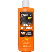 D2W Guide Gear Rinse-Free Body and Hair Wash, 240ml