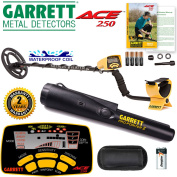 Garrett ACE 250 Metal Detector with Waterproof Coil and Pro-Pointer Pinpointer