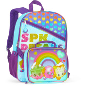 The Licencing Shop Rainbow Shopkins 41cm Full-Size Backpack With Detachable Lunch Bag