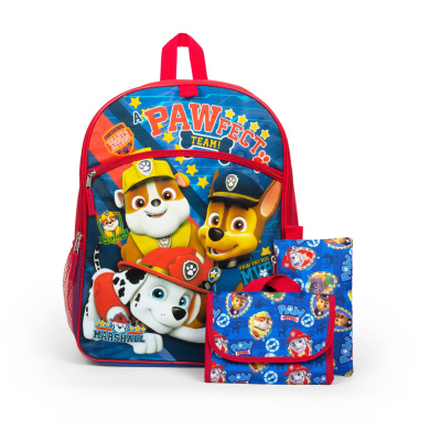 Paw Patrol 41cm 5pc Value Set with Carabineer