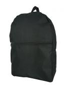 K-Cliffs Basic Backpack Simple Bookbag Daypack School Bag
