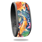 Skin For Disney Magic Band – Koi Pond | MightySkins Protective, Durable, and Unique Vinyl Decal wrap cover | Easy To Apply, Remove, and Change Styles | Made in the USA