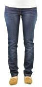 9 Fashion Maternity Urango Indigo Mid-Panel Jeans Sz S