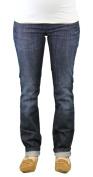 9 Fashion Maternity Olmar Indigo Low-Panel Jeans Sz S