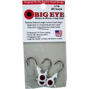 Fle-Fly Big Eye Jig Head, 30ml, White
