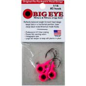 Fle-Fly Big Eye Jig Head, 30ml, Pink