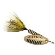 Worden 30ml Rooster Tail Lure, Metallic Gold Black