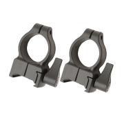 CVA Z-2 Alloy QD Scope Rings - High (Black) SKU
