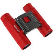 Tasco Essentials Binoculars 10x25mm, Roof Prism, Red, Boxed