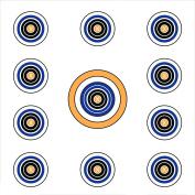 Allen Cases EZ Aim 11 Spot Target