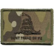 Camouflage Don't Tread On Me Patch, 5.1cm x 7.6cm , Multicam