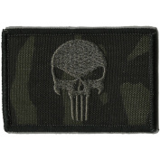 Camouflage Punisher Patch, 5.1cm x 7.6cm