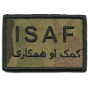 Camouflage Pashtun, ISAF Patch, 5.1cm x 7.6cm , MULTICAM