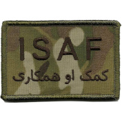 Camouflage ISAF Patch, 5.1cm x 7.6cm , MULTICAM