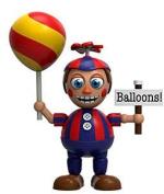 Funko Five Nights at Freddy's 5.1cm Tall Balloon Boy Vinyl Mini Figure