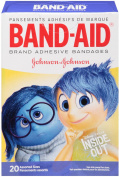 BAND-AID Children's Adhesive Bandages, Disney-Pixar Inside Out, Assorted Sizes 20 ea