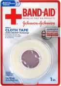 BAND-AID Small Cloth Tape, 2.5cm x 10 Yard 1 ea