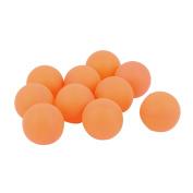 Unique Bargains 9 Pcs Recreational Movement Plastic Desk Ping Pong Balls