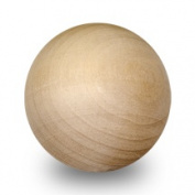 1 Pc 5.1cm - 1.3cm Wooden Balls