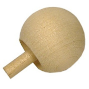 5 Pcs Wooden Spin Tops1-0.6cm ball topHold peg and spin on ball, as it spins, it will flip onto the peg.