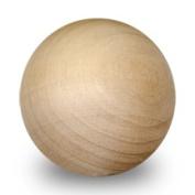 5 Pcs 7.6cm Wooden Balls