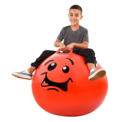 Jumbo 90cm Silly Face Bopping Ball - Assorted Colours and Faces