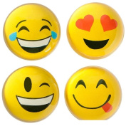 4.6cm Emoticon Emoji Translucent Hi-Bounce Ball