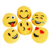 Emoji Knitted Kick Ball
