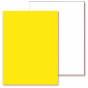 YummyInks Frosting ChromaSheets, 5 Sheets, 20cm x 33cm , Yellow