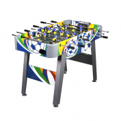 Zimtown 150cm Foosball Soccer Table Competition Sized Arcade Game Room Hockey Fooseball