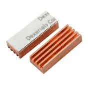 2 x Laptop MC-200 Copper Heat Sink for DDR DDR2 DDR3 RAM Memory