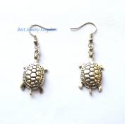 Turtle Earrings, Tortoise Earrings, Turtle Jewellery, Ocean Earrings, Silver Turtle Earrings, Fun Jewellery,Ocean Jewellery