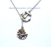 Silver Anchor Necklace,Sea Necklace,Nautical Necklace,Frog necklace,Frog jewellery,animal necklace,animal jewellery,animal lover gift