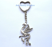 Phoenix keychain Phoenix keyring Phoenix gift Fantasy key chain,Phoenix jewellery