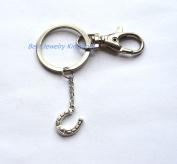 Horseshoe keychain, Horseshoe gifts key ring,horseshoe charm,good luck charm