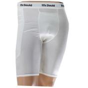 McDavid 720 Baseball Sliding Shorts White-Youth Small with Cup Pocket