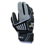 Xprotex Raykr Adult Protective Batting Gloves, Black, Size X-Large