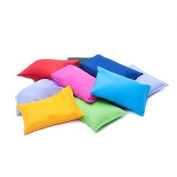 4 pack of Assorted Colours Cotton Fabric Bean Bags for Sports, PE, School, Catching Games, Sensory, Juggling