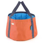 Orange OUTAD Camping Hiking Fishing Portable Camping Bucket Foldable Bucket Bag^