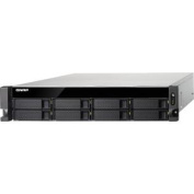 QNAP High Performance Quad-Core 8-Bay 10GbE NAS with Redundant Power Supplies