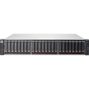 HP 2040 SAN Array - 24 x HDD Supported - 43 TB Supported HDD Capacity - 24 x SSD Supported - 2 x 6Gb/s SAS Controller - 24 x Total Bays - 10 Gigabit Ethernet - iSCSI, Fibre Channel - 0, 1, 3, 5,